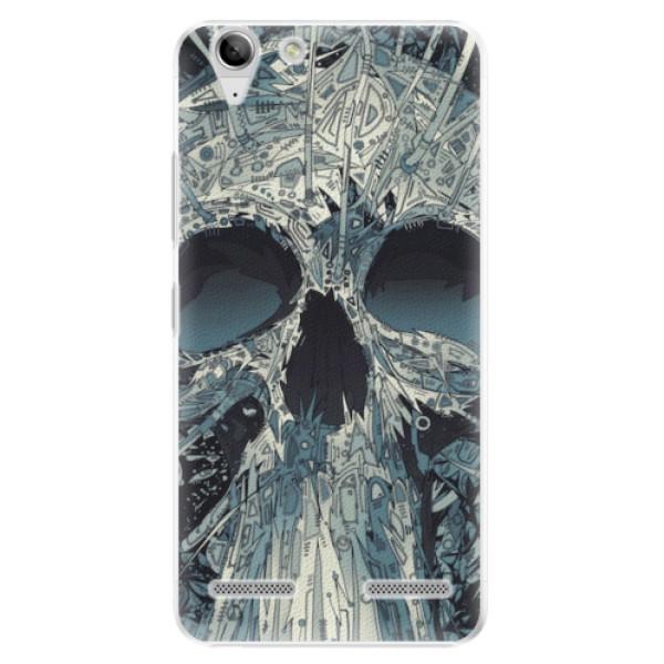 Plastové pouzdro iSaprio - Abstract Skull - Lenovo Vibe K5
