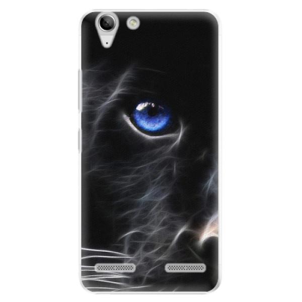 Plastové pouzdro iSaprio - Black Puma - Lenovo Vibe K5