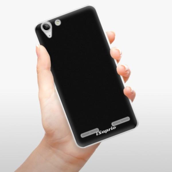 Plastové pouzdro iSaprio - 4Pure - černý - Lenovo Vibe K5