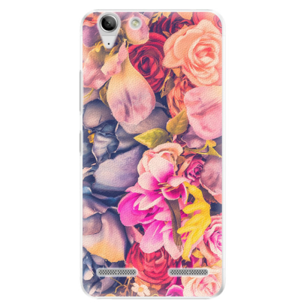 Plastové pouzdro iSaprio - Beauty Flowers - Lenovo Vibe K5