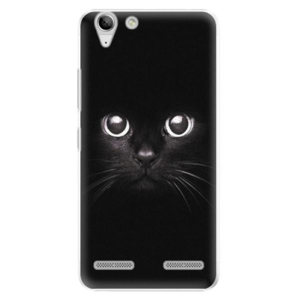 Plastové pouzdro iSaprio - Black Cat - Lenovo Vibe K5