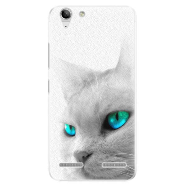 Plastové pouzdro iSaprio - Cats Eyes - Lenovo Vibe K5