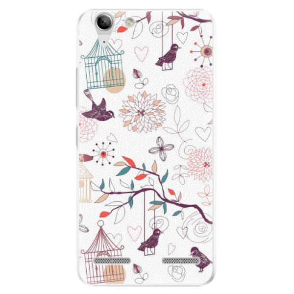 Plastové pouzdro iSaprio - Birds - Lenovo Vibe K5