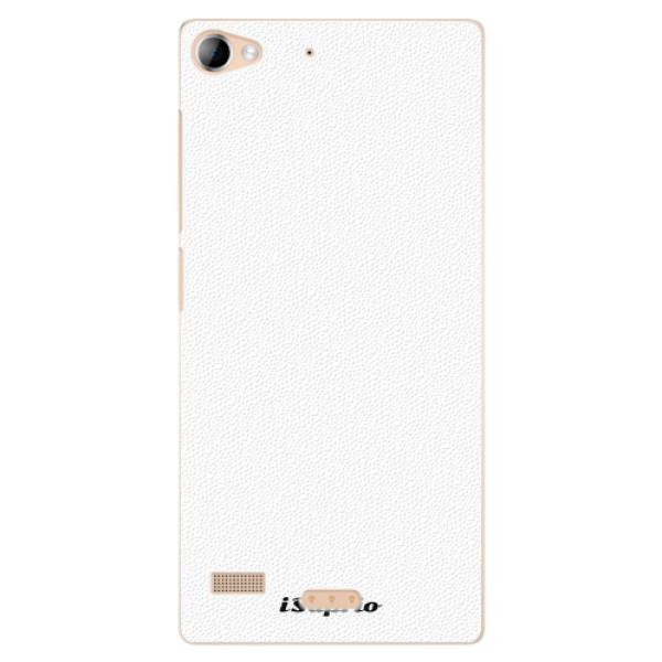 Plastové pouzdro iSaprio - 4Pure - bílý - Lenovo Vibe X2
