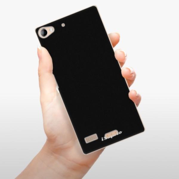 Plastové pouzdro iSaprio - 4Pure - černý - Lenovo Vibe X2