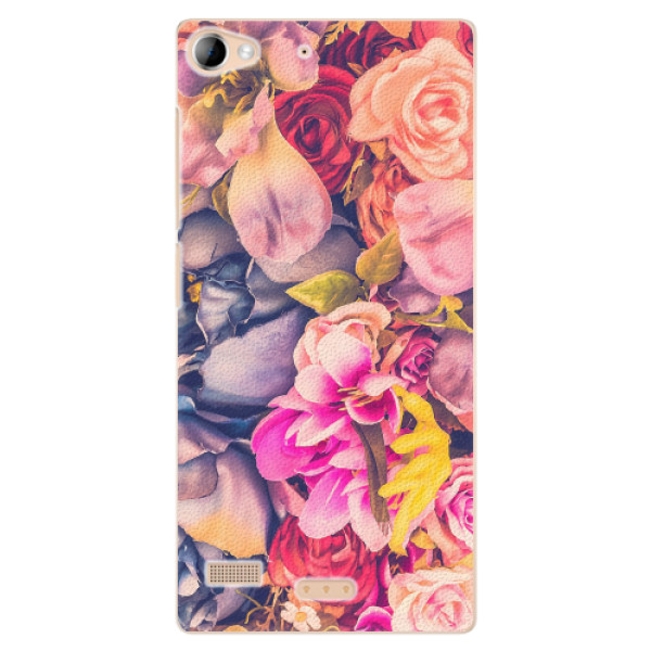 Plastové pouzdro iSaprio - Beauty Flowers - Lenovo Vibe X2