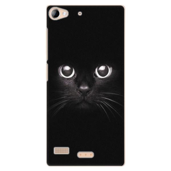Plastové pouzdro iSaprio - Black Cat - Lenovo Vibe X2