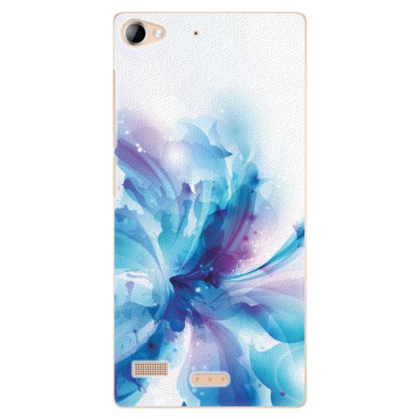 Plastové pouzdro iSaprio - Abstract Flower - Lenovo Vibe X2
