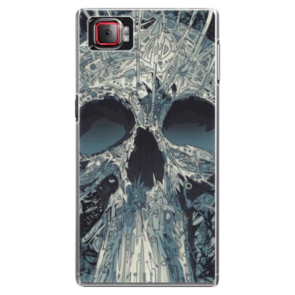 Plastové pouzdro iSaprio - Abstract Skull - Lenovo Z2 Pro