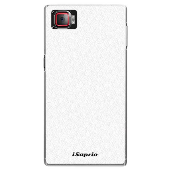 Plastové pouzdro iSaprio - 4Pure - bílý - Lenovo Z2 Pro