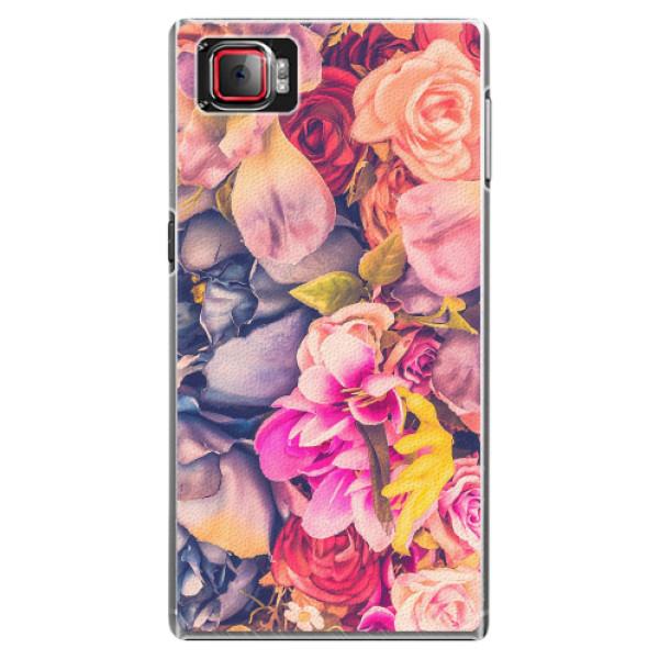 Plastové pouzdro iSaprio - Beauty Flowers - Lenovo Z2 Pro