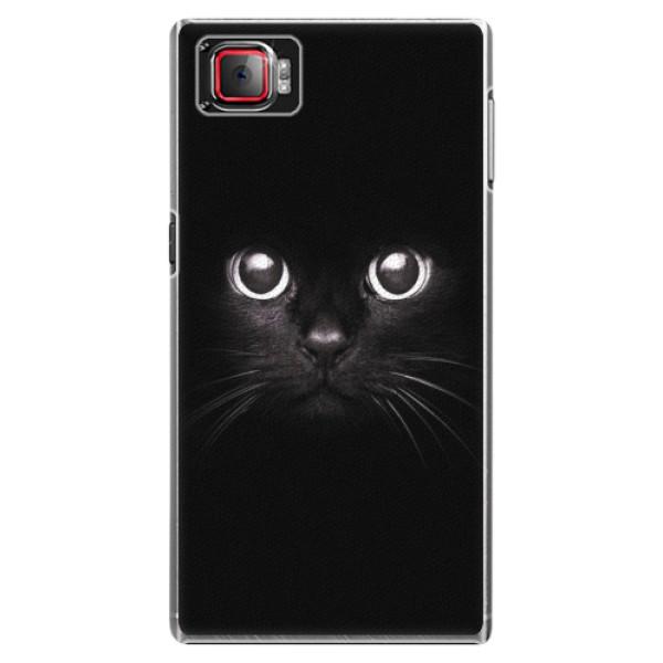 Plastové pouzdro iSaprio - Black Cat - Lenovo Z2 Pro