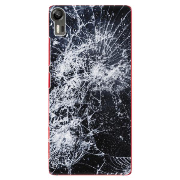 Plastové pouzdro iSaprio - Cracked - Lenovo Vibe Shot
