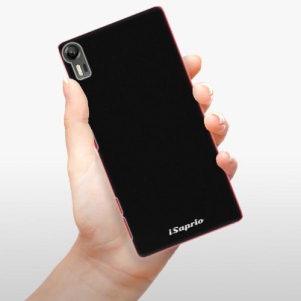 Plastové pouzdro iSaprio - 4Pure - černý - Lenovo Vibe Shot