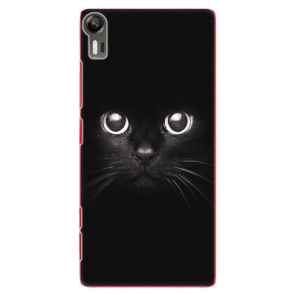 Plastové pouzdro iSaprio - Black Cat - Lenovo Vibe Shot