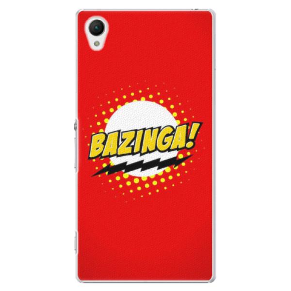 Plastové pouzdro iSaprio - Bazinga 01 - Sony Xperia Z1