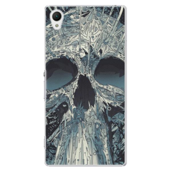 Plastové pouzdro iSaprio - Abstract Skull - Sony Xperia Z1