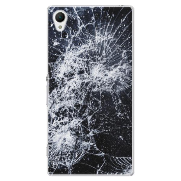 Plastové pouzdro iSaprio - Cracked - Sony Xperia Z1