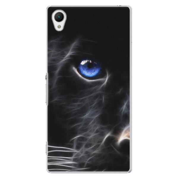 Plastové pouzdro iSaprio - Black Puma - Sony Xperia Z1