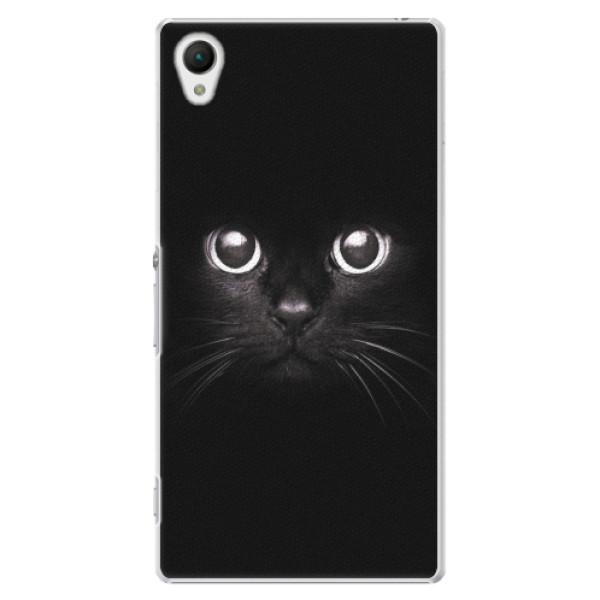Plastové pouzdro iSaprio - Black Cat - Sony Xperia Z1