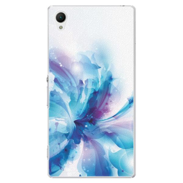 Plastové pouzdro iSaprio - Abstract Flower - Sony Xperia Z1