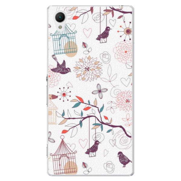 Plastové pouzdro iSaprio - Birds - Sony Xperia Z1