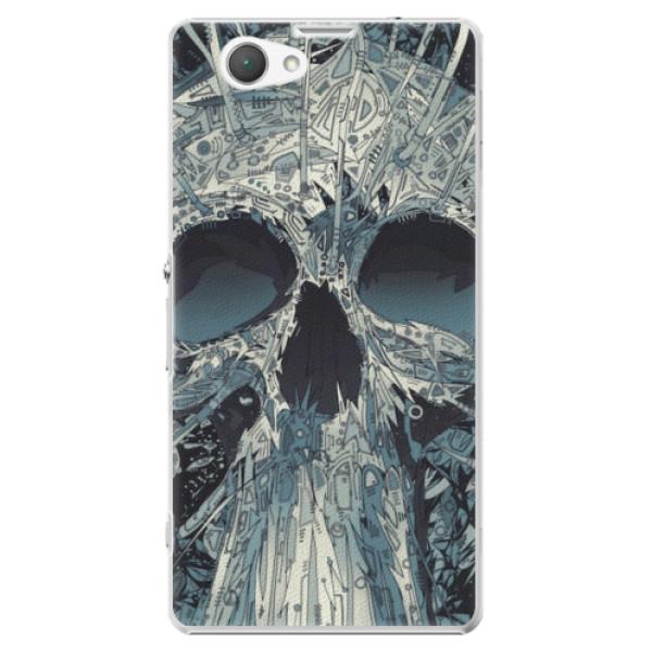Plastové pouzdro iSaprio - Abstract Skull - Sony Xperia Z1 Compact