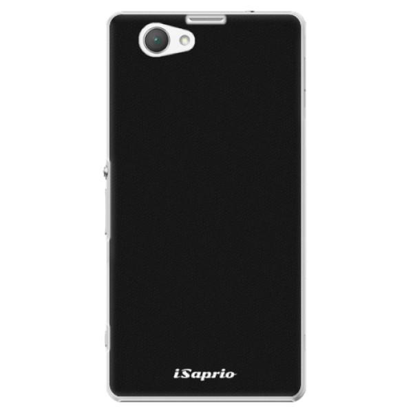 Plastové pouzdro iSaprio - 4Pure - černý - Sony Xperia Z1 Compact