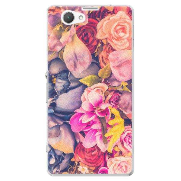 Plastové pouzdro iSaprio - Beauty Flowers - Sony Xperia Z1 Compact