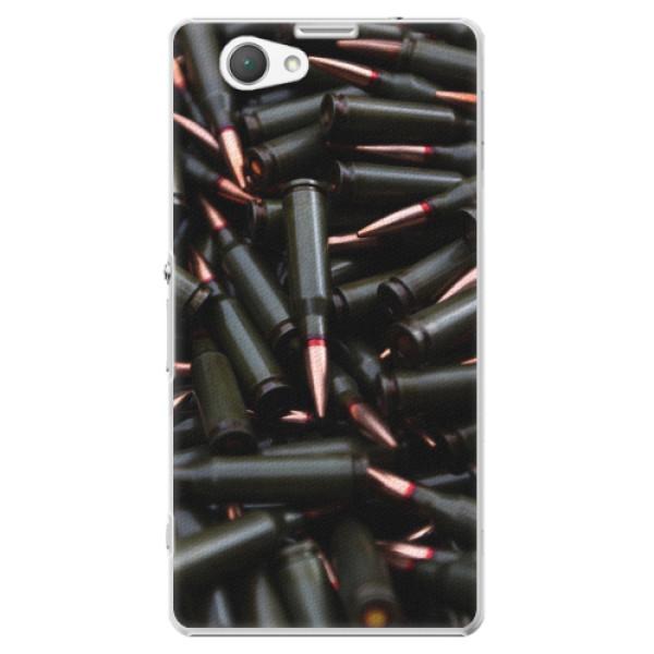 Plastové pouzdro iSaprio - Black Bullet - Sony Xperia Z1 Compact