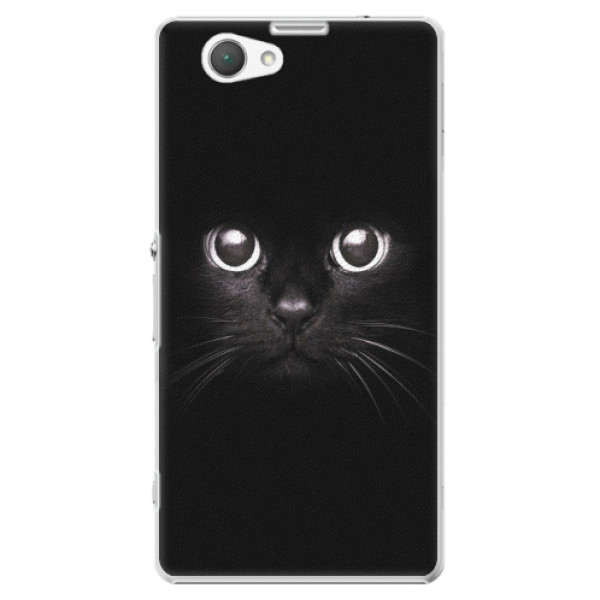 Plastové pouzdro iSaprio - Black Cat - Sony Xperia Z1 Compact