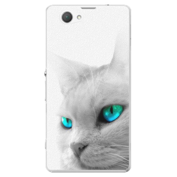 Plastové pouzdro iSaprio - Cats Eyes - Sony Xperia Z1 Compact