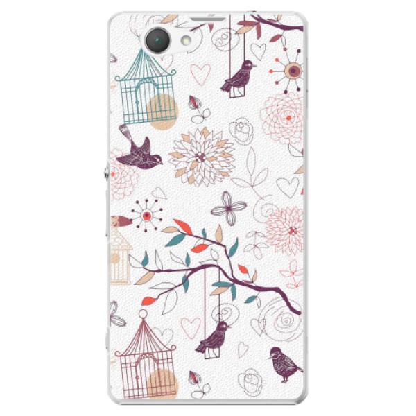 Plastové pouzdro iSaprio - Birds - Sony Xperia Z1 Compact