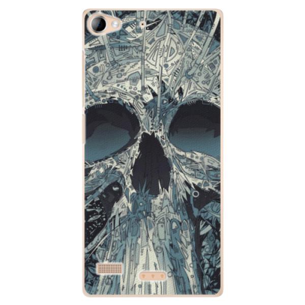 Plastové pouzdro iSaprio - Abstract Skull - Sony Xperia Z2