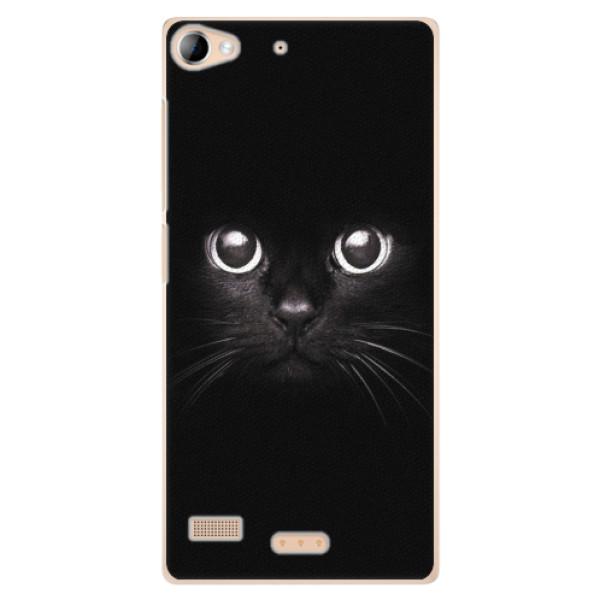 Plastové pouzdro iSaprio - Black Cat - Sony Xperia Z2