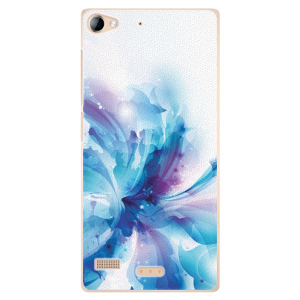 Plastové pouzdro iSaprio - Abstract Flower - Sony Xperia Z2
