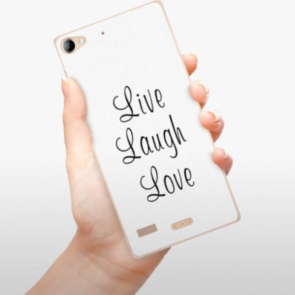 Plastové pouzdro iSaprio - Live Laugh Love - Sony Xperia Z2