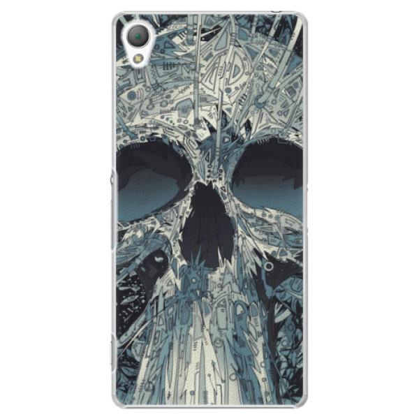 Plastové pouzdro iSaprio - Abstract Skull - Sony Xperia Z3