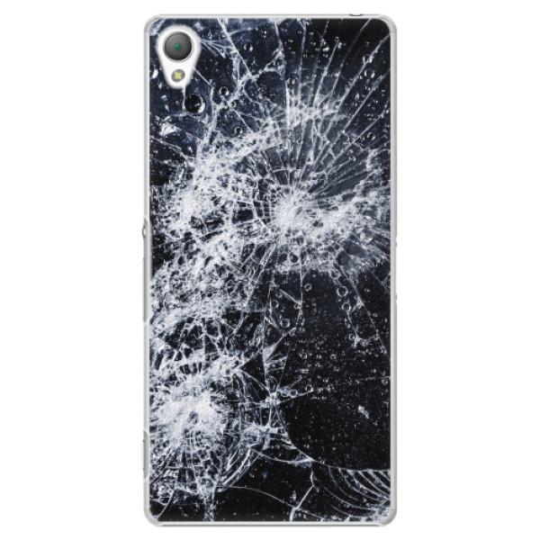 Plastové pouzdro iSaprio - Cracked - Sony Xperia Z3