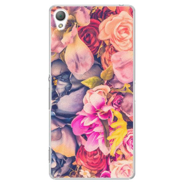Plastové pouzdro iSaprio - Beauty Flowers - Sony Xperia Z3