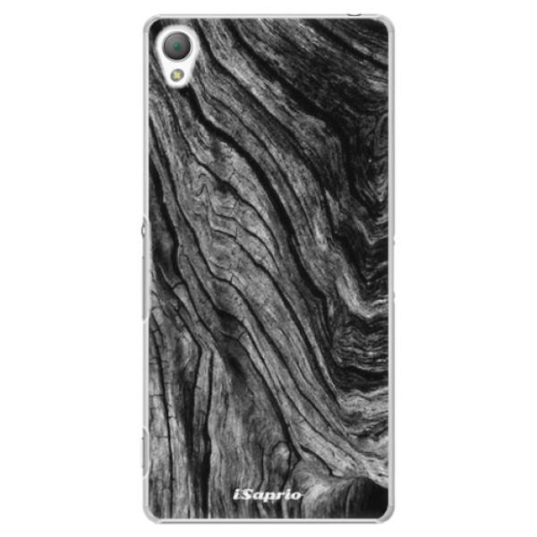Plastové pouzdro iSaprio - Burned Wood - Sony Xperia Z3