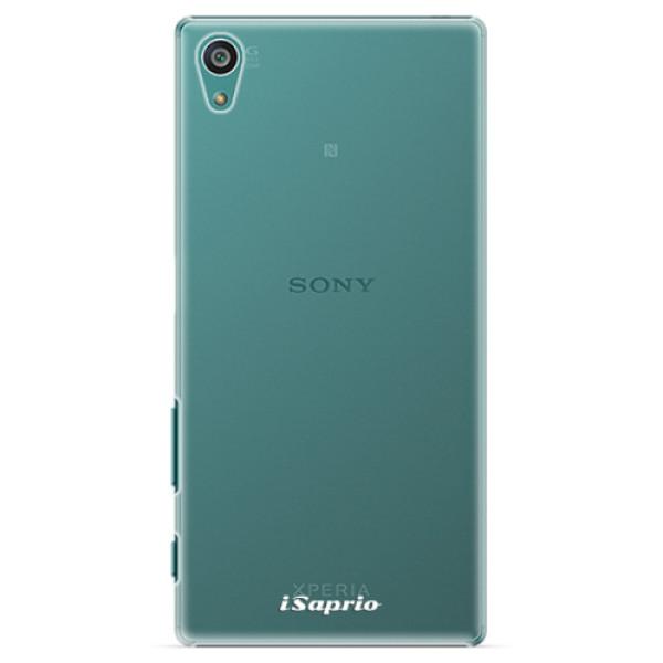 Plastové pouzdro iSaprio - 4Pure - mléčný bez potisku - Sony Xperia Z5