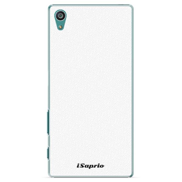 Plastové pouzdro iSaprio - 4Pure - bílý - Sony Xperia Z5