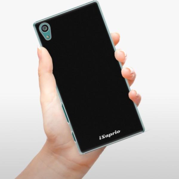 Plastové pouzdro iSaprio - 4Pure - černý - Sony Xperia Z5