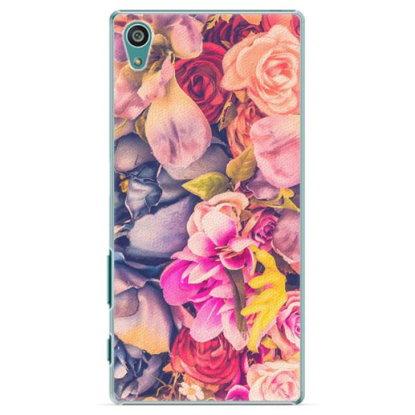 Plastové pouzdro iSaprio - Beauty Flowers - Sony Xperia Z5