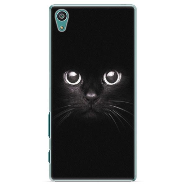 Plastové pouzdro iSaprio - Black Cat - Sony Xperia Z5