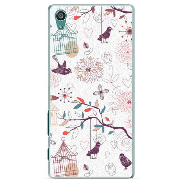Plastové pouzdro iSaprio - Birds - Sony Xperia Z5