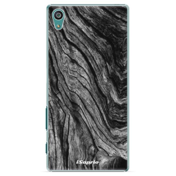 Plastové pouzdro iSaprio - Burned Wood - Sony Xperia Z5