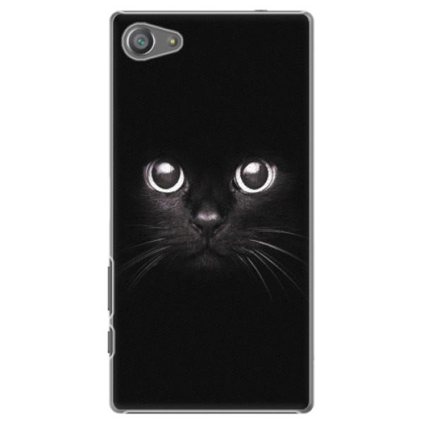 Plastové pouzdro iSaprio - Black Cat - Sony Xperia Z5 Compact