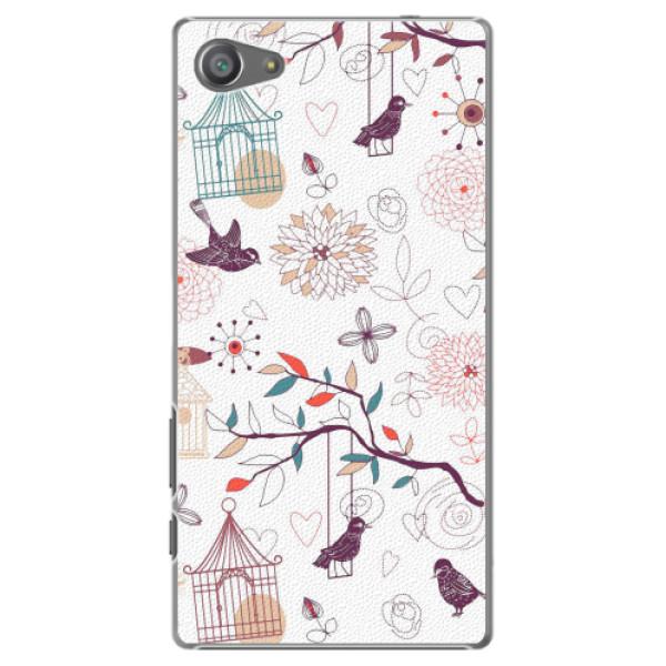 Plastové pouzdro iSaprio - Birds - Sony Xperia Z5 Compact